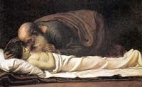 Abb. 1 Elisa erweckt den Sohn der Schunemiterin zum Leben (Frederick Leighton; 19. Jh.).