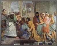 Abb. 4 Versöhnung zwischen Josef und seinen Brüdern (Gen 45; Peter von Cornelius; 1815).