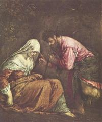 Abb. 1 Juda und Tamar (Jacopo Bassano; 1510/16-1592).
