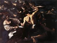 Abb. 6 Simson und Delila (Giovanni Guercino; 1577-1640)