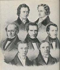 Lithografie von Carl Rohde, 1837/38; © public domain