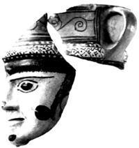 Aus: M. Dayagi-Mendels, Perfumes and Cosmetics in the Ancient World (Israel Museum Catalogue 305), Jerusalem 1989, 43