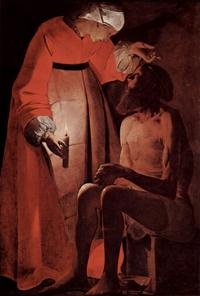 Abb. 7 Hiob und seine Frau (Georges de la Tour; ca. 1640).