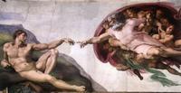 Abb. 5 Die Erschaffung Adams (Michelangelo; 1510).