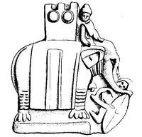 Aus: O. Keel / M. Küchler / C. Uehlinger, Orte und Landschaften der Bibel. Ein Handbuch und Studienreiseführer zum Heiligen Land, Bd. 1, Zürich u.a. 1984, Abb. 64 © Stiftung BIBEL+ORIENT, Freiburg / Schweiz