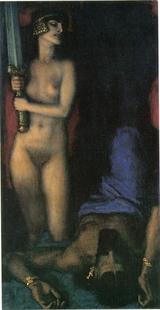 Abb. 5 Judit im Begriff, Holofernes zu töten (Franz von Stuck; 1926).